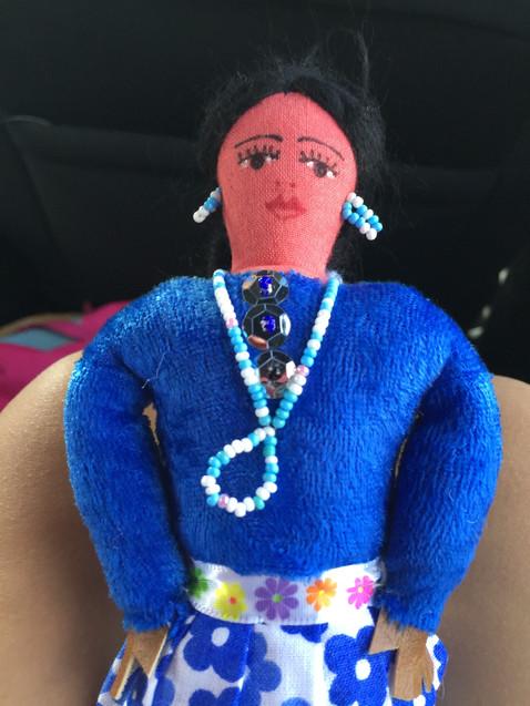 娘がセドナで買った人形
