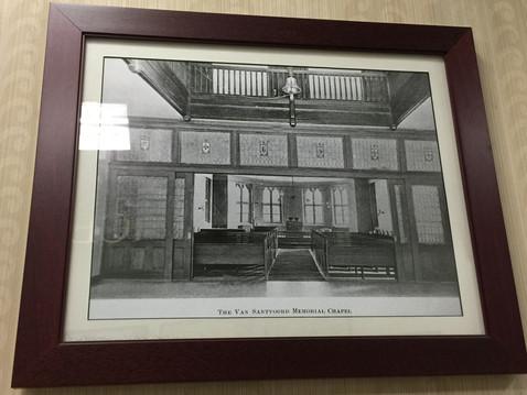 院内チャペルの写真。この写真がきっかけとなって、スジャータ(仮)と太郎の過去生を思い出しました。