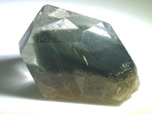 Chlorite in Quartz (Brazil)