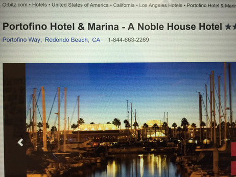 LAに取ったギューホテル