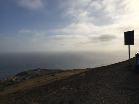 Rancho Palos Verdesの丘からの眺め・右