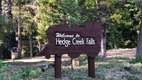 Hedge Creek Falls in Dunsmuir