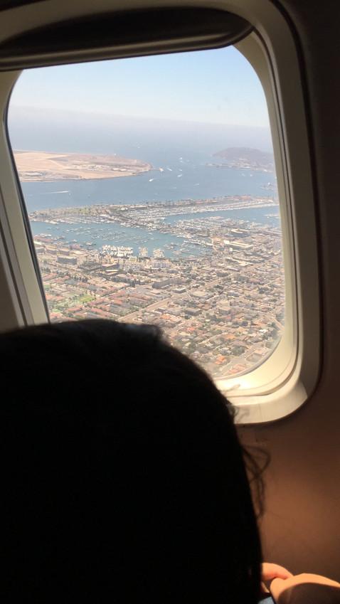 バイバイ、サンディエゴ!また来るよー!