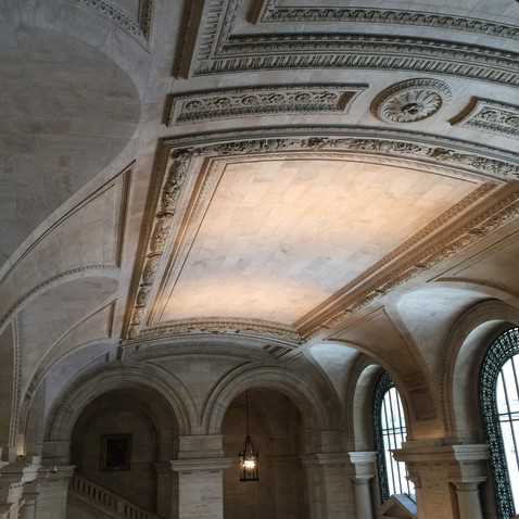 太郎図書館、天井