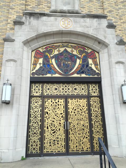 教会のドア