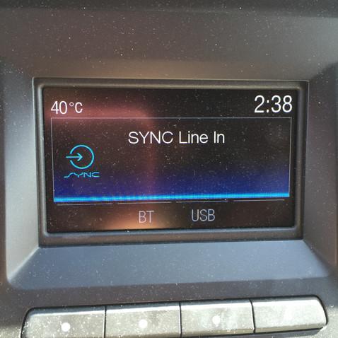 出発した時、外は40℃