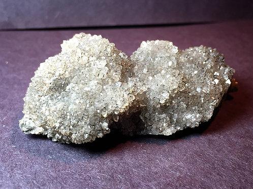 Herkimer Diamond Druzy ハーキマーダイヤモンド原石結晶