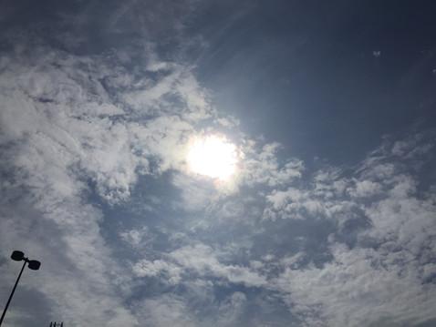 9月の太陽