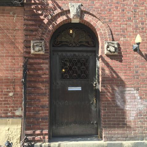 見かけたドア