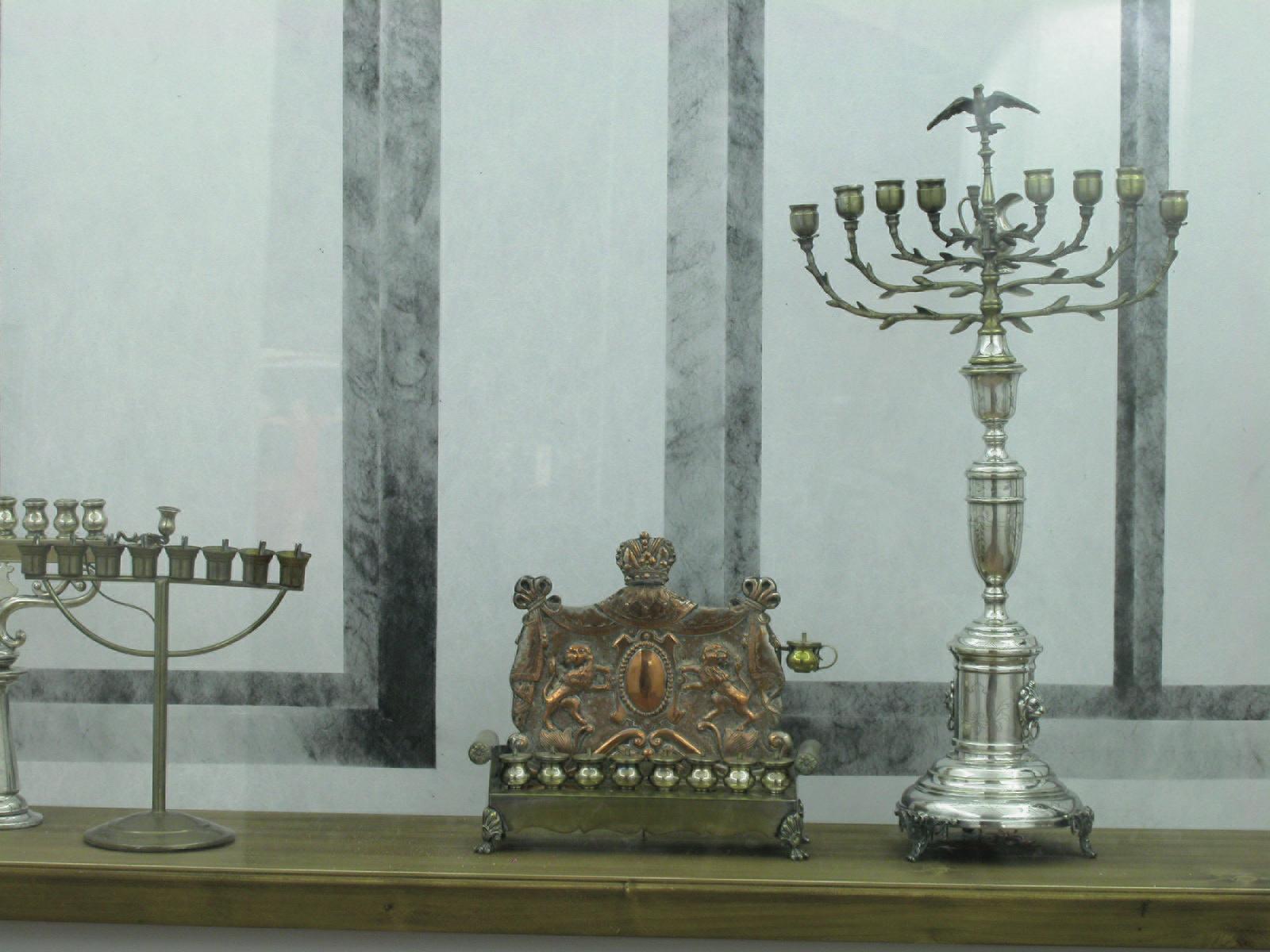 Blick in die Ausstellung: Jüdisches