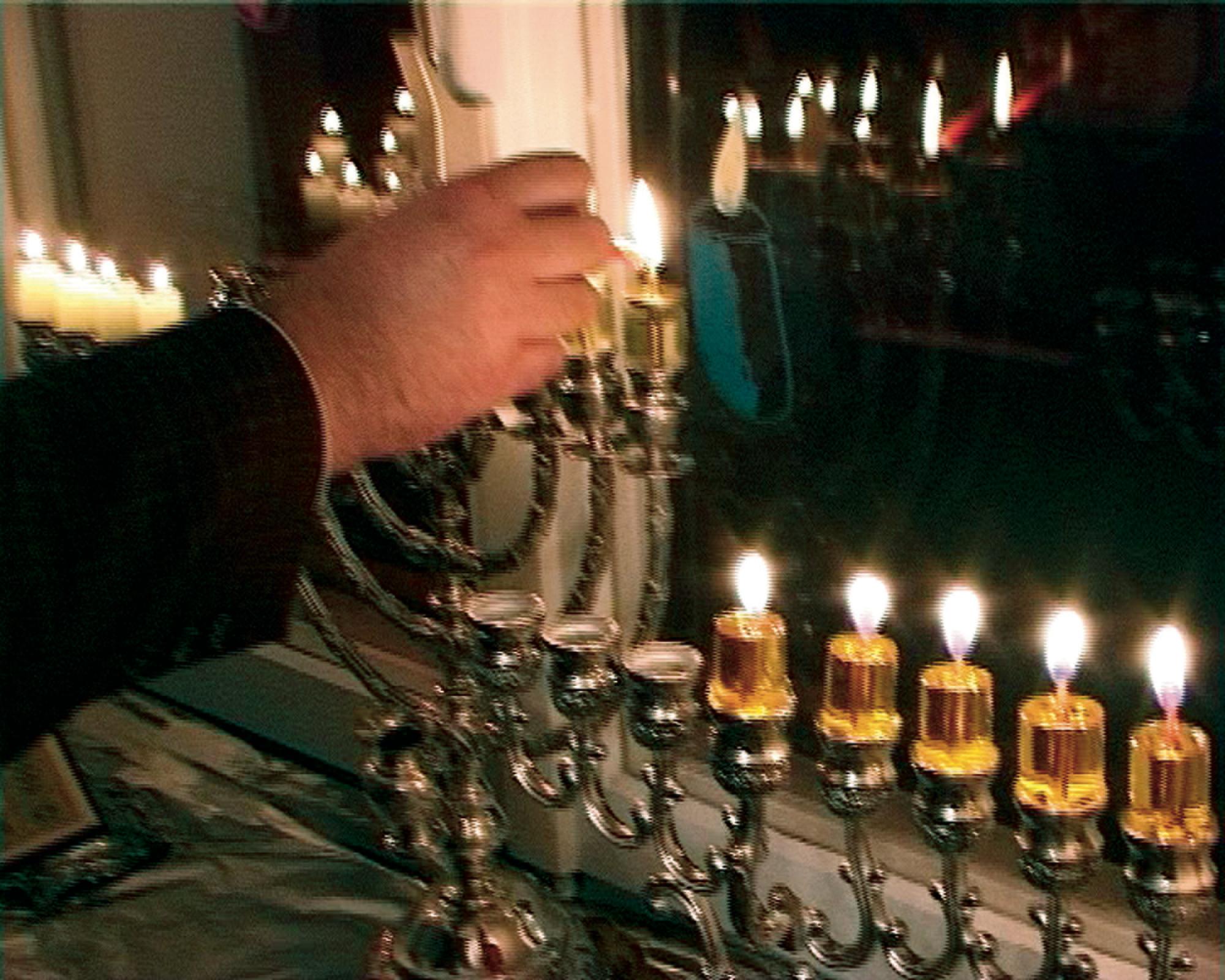 Still: Video über das jüdische Licht