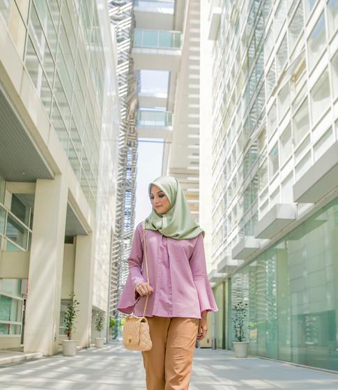 Walking Through The Urban