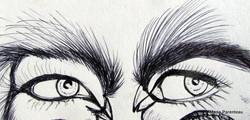 optical illusion, vision illusion,