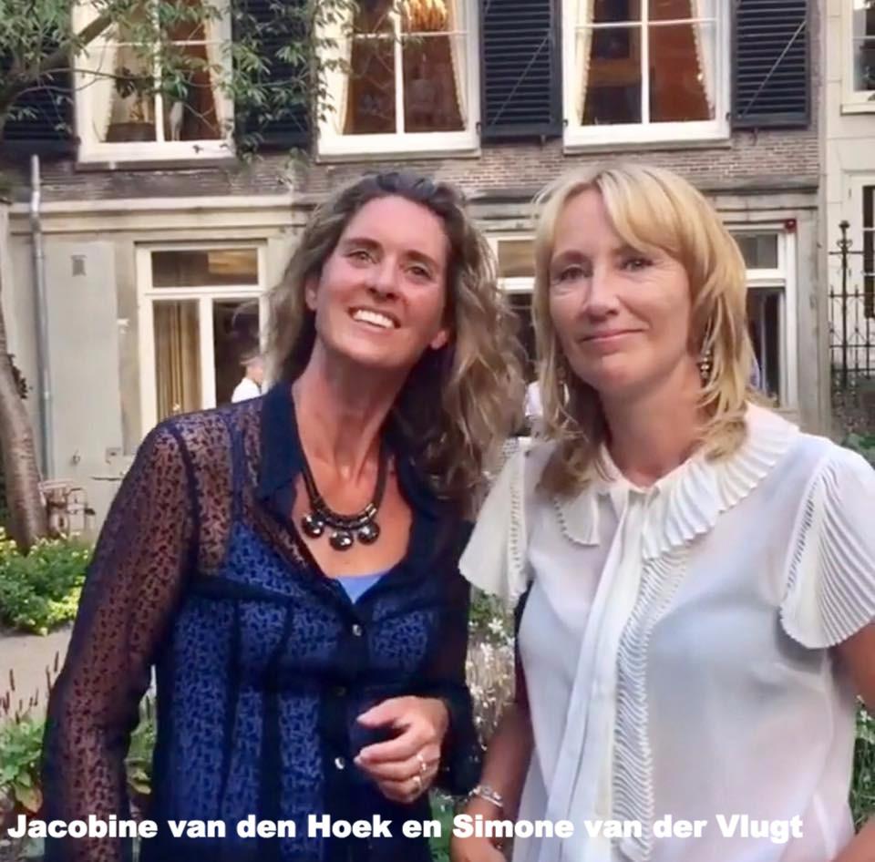 Jacobine van den Hoek en Simone van der Vlugt