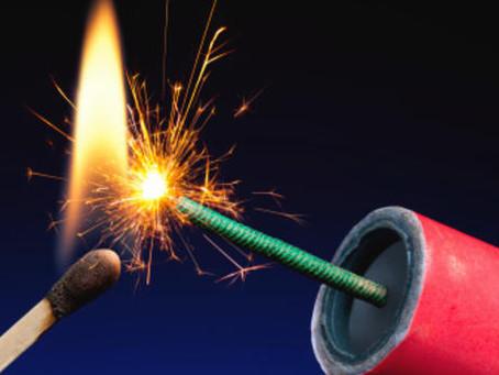 Verboden vuurwerk
