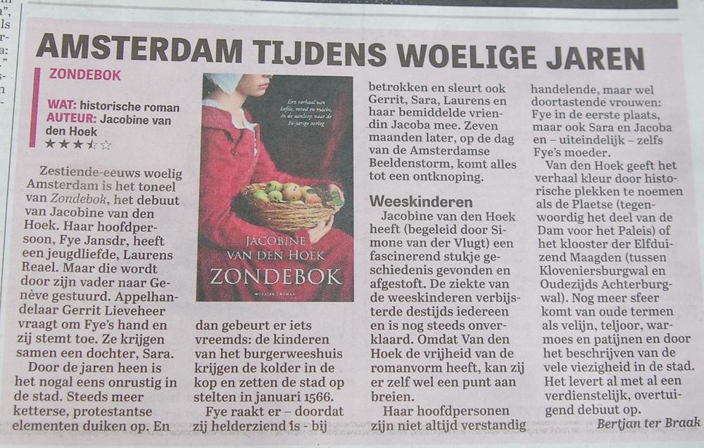 Telegraaf Zondebok