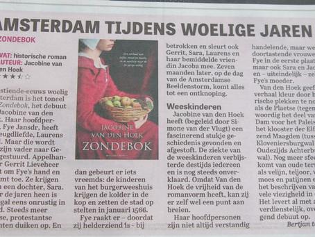 Recensie Telegraaf - Zondebok