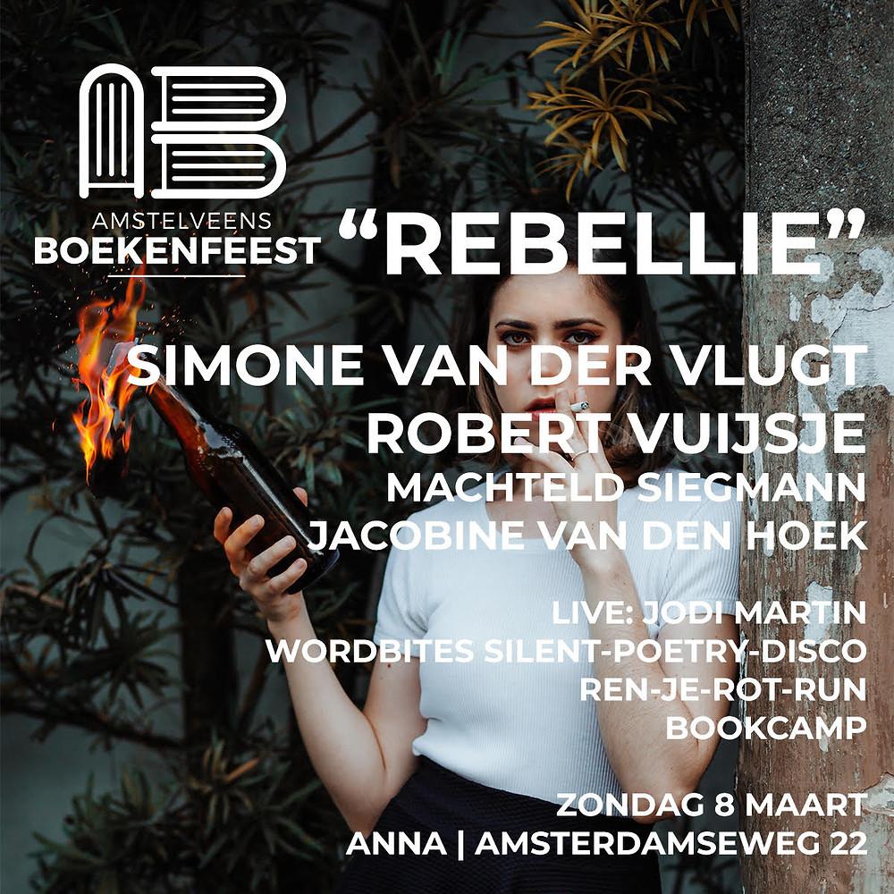 Boekenfeest Simone van der Vlugt Robert Vuijsje Jacobine van den Hoek