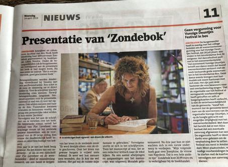 Zondebok in Amstelveens Nieuwsblad