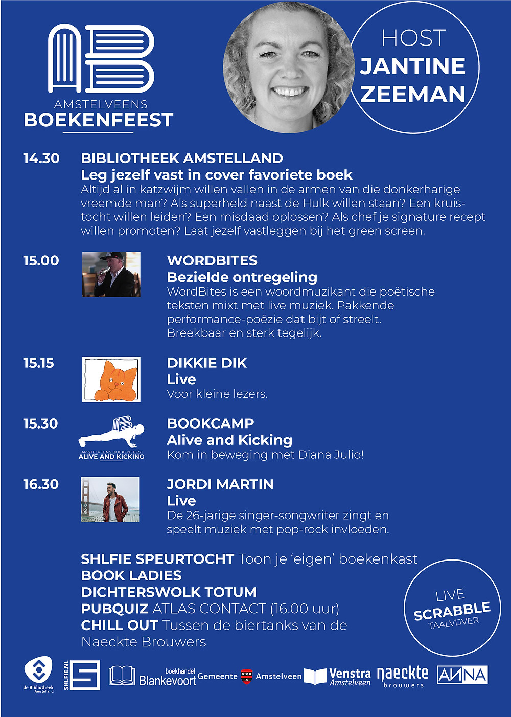 Cultureel evenement in Annakerk