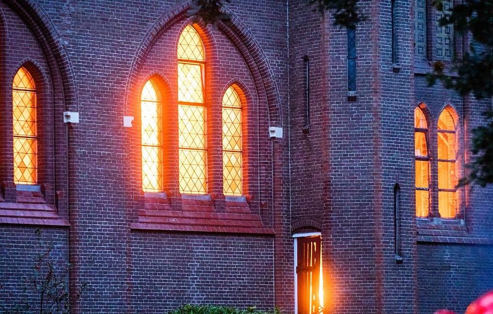 Urbanuskerk brand Amstelveen