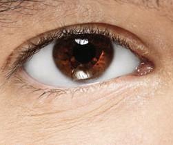 Mooie bruine ogen