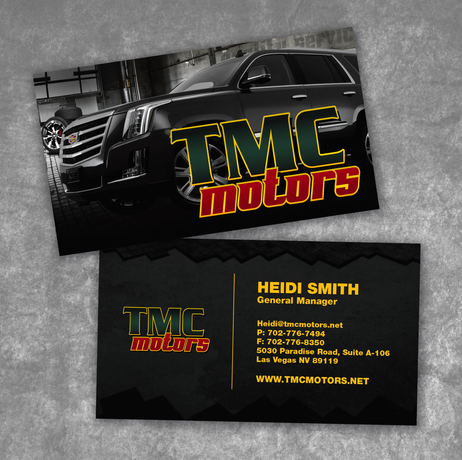 TMC Motor Business Card