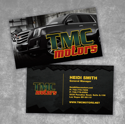 TMC Motor Business Card