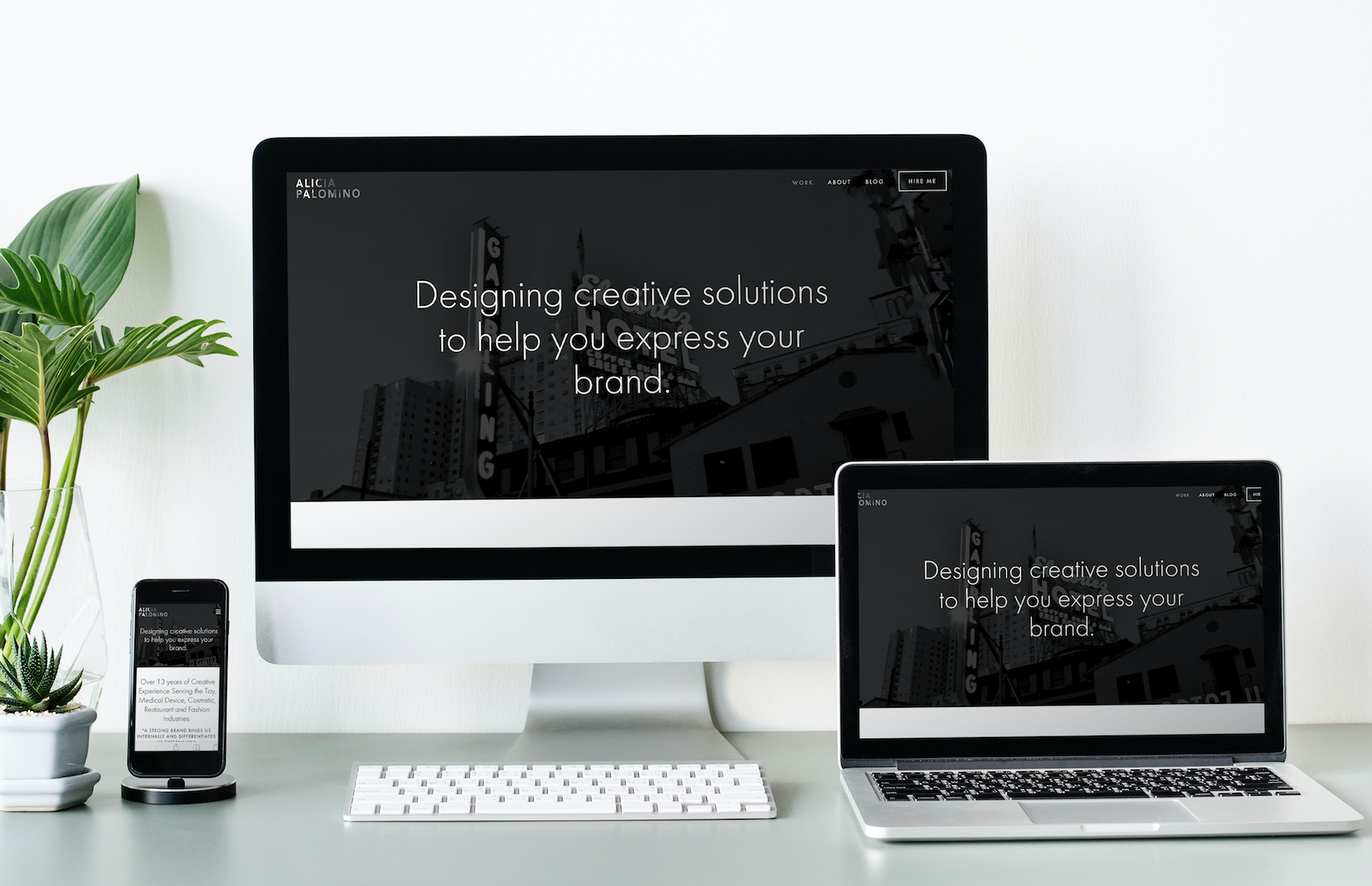 Website Design for Desktop & Mobile