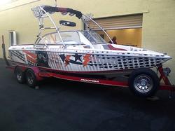 Speed Boat Wrap