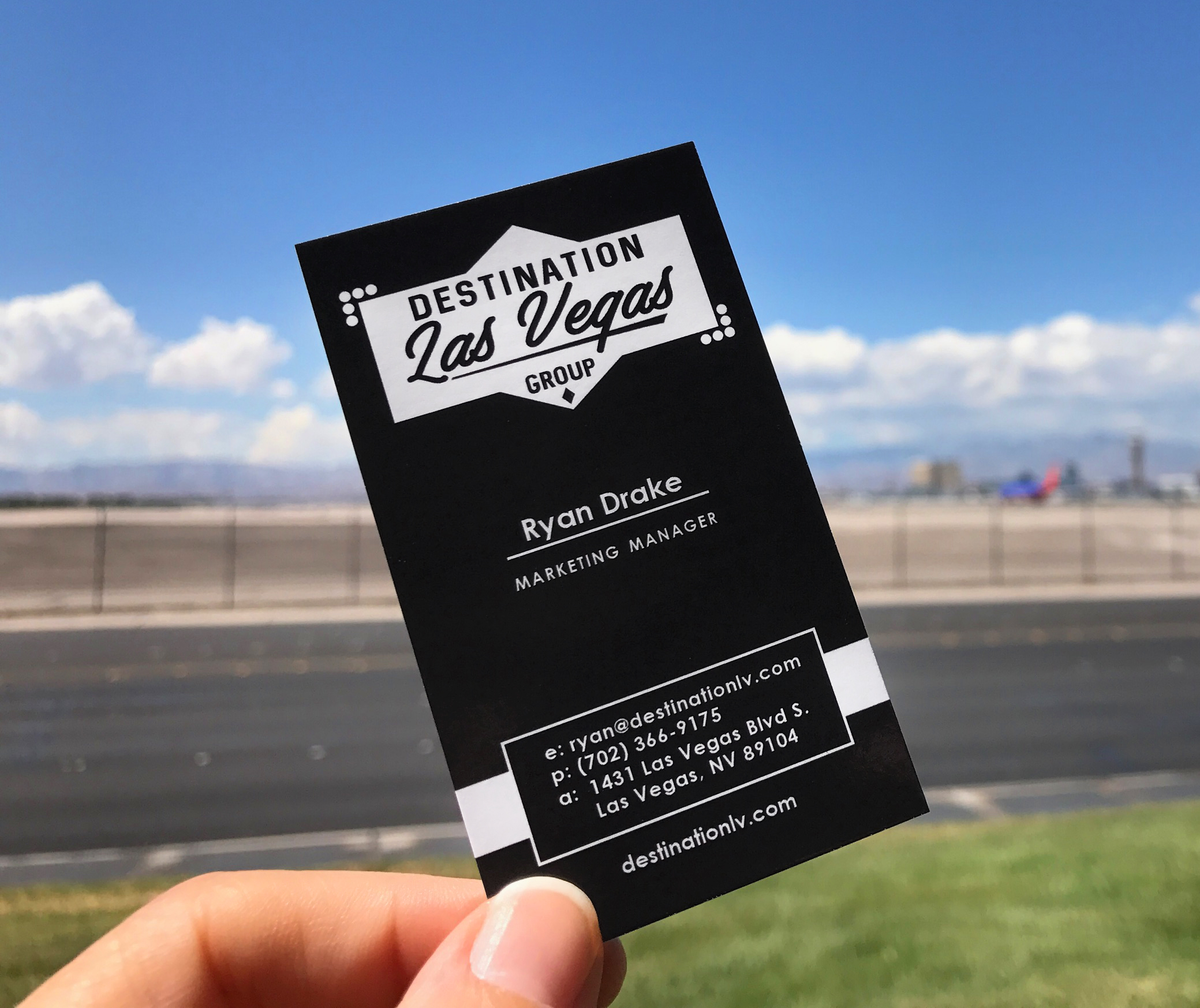 Destination LV Business Card
