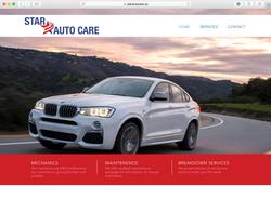 Star Auto Website Design