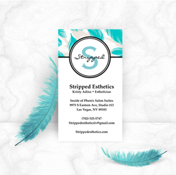Stripped Esthetics Business Card