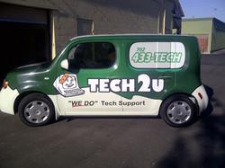 Tech2u Car Wrap
