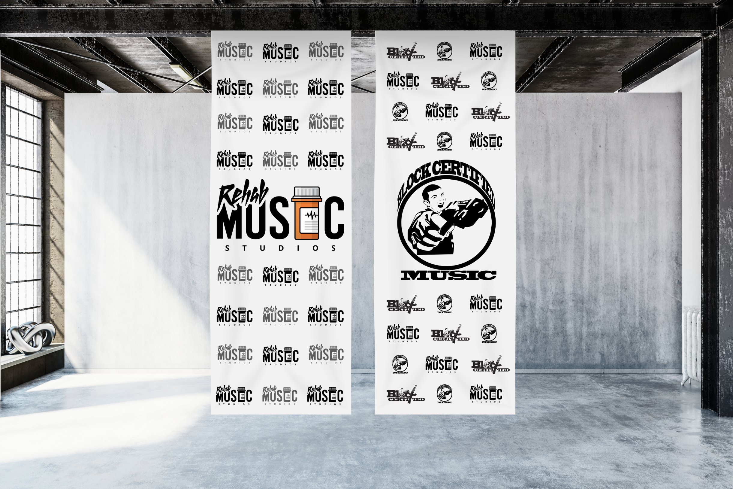 Rehab Music Banners