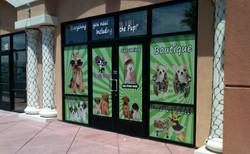 Storefront Custom Window Art