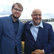 С Султаном Хадрамаута Галибом II Фль-Куайти