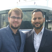 С Наследным Принцем Хадрамаута Салехом бин Галибом Аль-Куайти