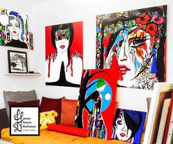 Atelier peintures canap 06.20