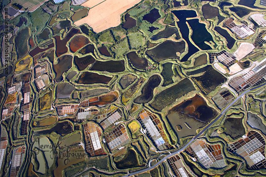 ULM sur  les marais salants, Guérande