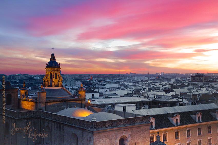 Ciel de Séville, Espagne