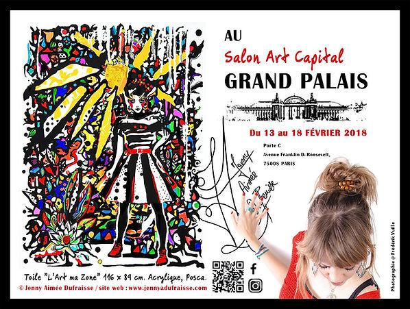 Affiche Grand Palais Jenny Aimée Dufraisse