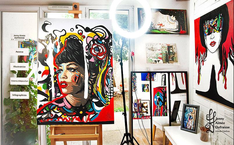 Tammi Terrell - atelier peinture