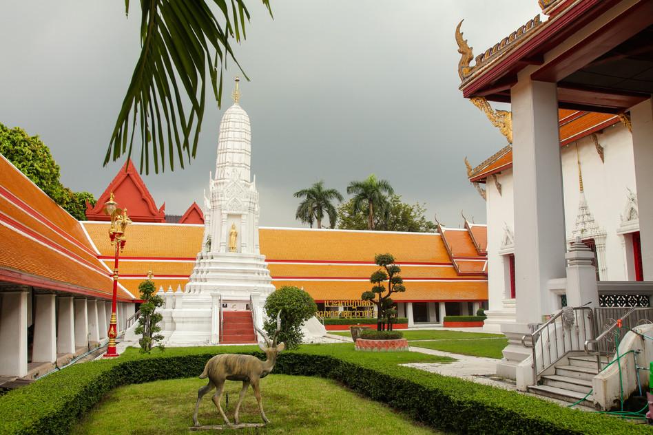 Wat Mahathat Bangkok, Thailande