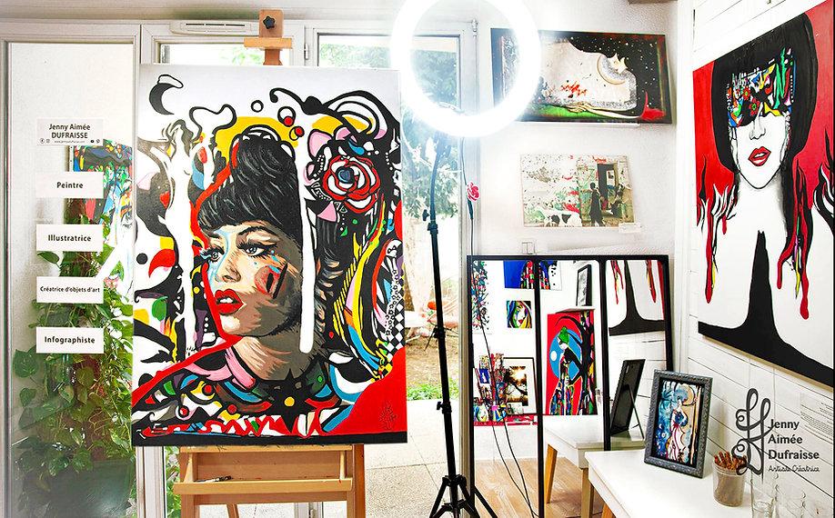 Peintures, Tammi Terrell - Jenny Aimée Dufraisse
