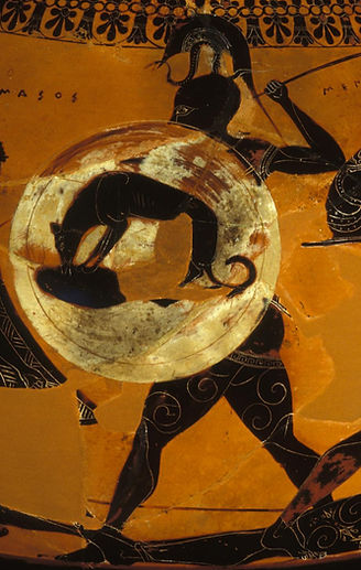 Warrior Dog- Ancient Greek