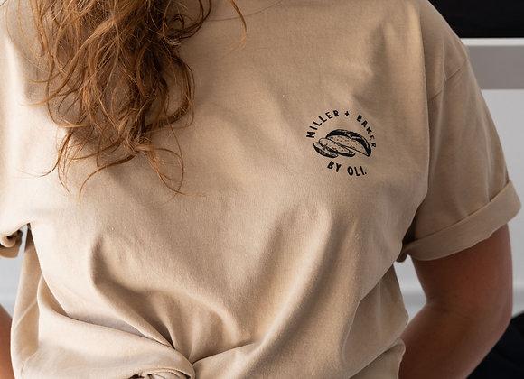 Oli Clothing TShirt Collab - TAN