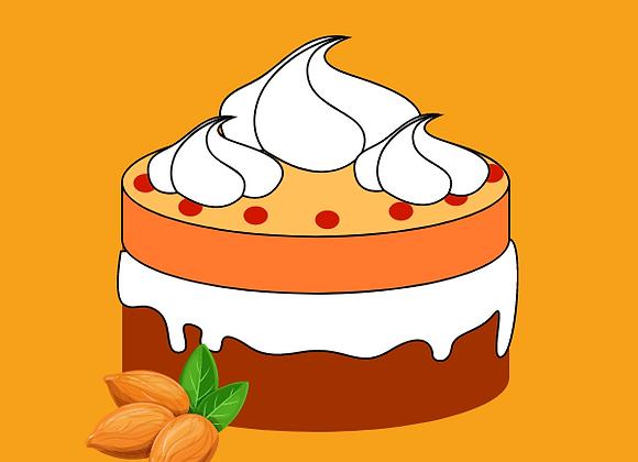 Orange + Almond Cake