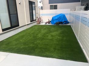 【施工報告】砂利のお庭が一変!