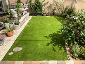 【施工報告】朝から晩まで遊べるお庭が完成!
